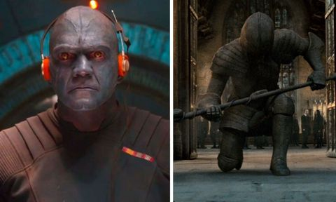 spencer wilding – mean guard in guardians of the galaxy and knight of hogwarts in deathly hallows part 2