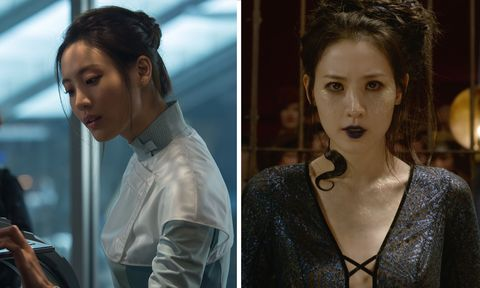 claudia kim   helen cho in avengers age of ultron  nagini in the crimes of grindelwald