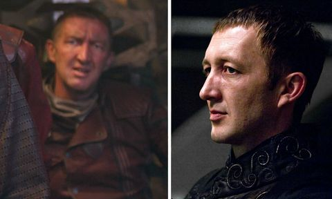 ralph ineson   ravager pilot in guardians of the galaxy and amycus carrow in deathly hallows