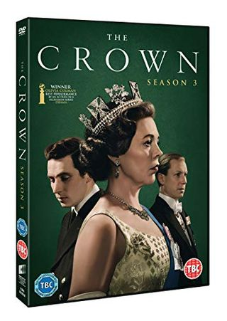 The Crown season 3 with Amazon exclusive box artwork