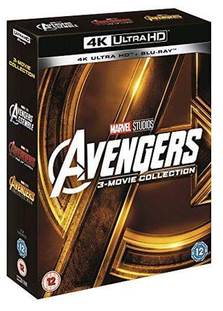 Avengers Collection (1-3 Box-set) [UHD] [Blu-ray] [2018] [Region Free]