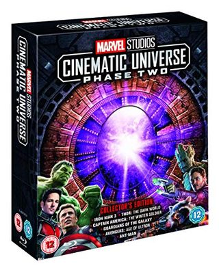 Marvel Studios Collector's Edition Box Set – Phase 2 Blu-ray [Region Free]