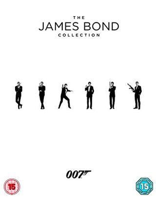 The James Bond Collection 1-24 Blu-ray 2017