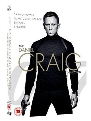James Bond - The Daniel Craig Collection 4-Pack DVD
