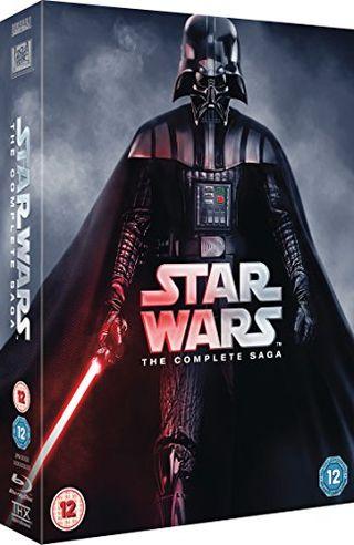 Star Wars - The Complete Saga (Episodes I-VI) [Blu-ray] [1977] [Region Free]