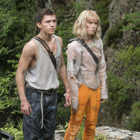 tom holland daisy ridley in chaos walking
