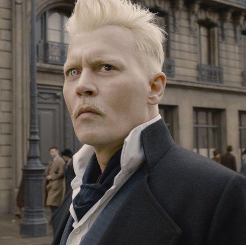 johnny depp, gellert grindelwald, fantastic beasts the crimes of grindelwald