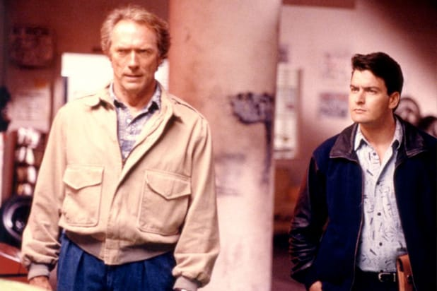 rookie clint eastwood charlie sheen